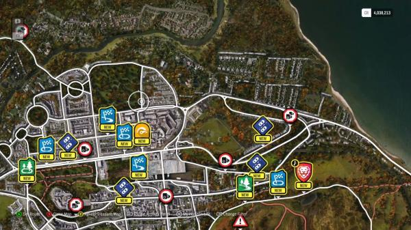 Forza Horizon 4 Map Complete - Year of Clean Water