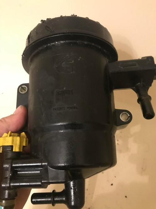 small resolution of any idea on part name houses fuel filter under hood for 2013 6