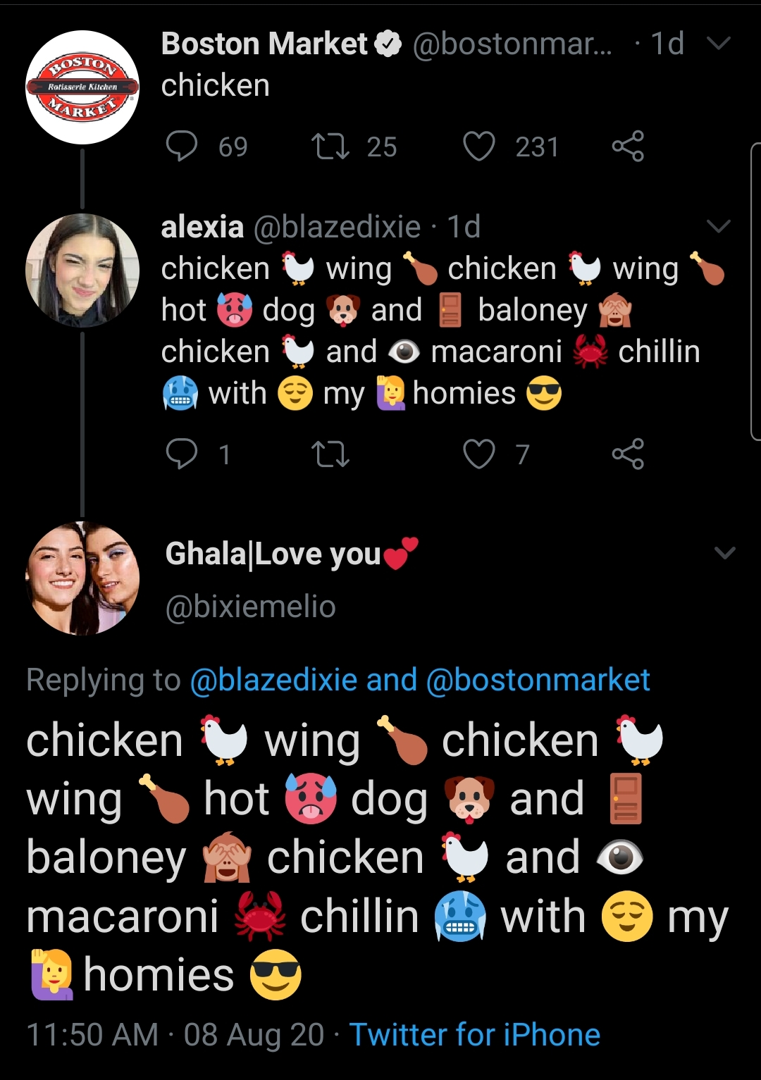 Chicken Wing Hot Dog And Baloney : chicken, baloney, Increase, These., IncreasinglyVerbose