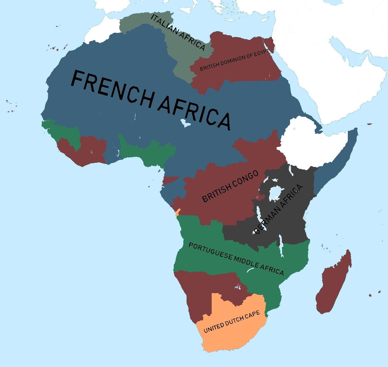 Alternate Scramble For Africa Oc Imaginarymaps