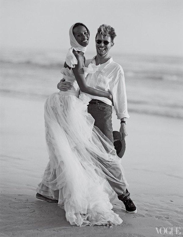 David Bowie Iman Wedding : david, bowie, wedding, David, Bowie, Their, Wedding,, OldSchoolCool