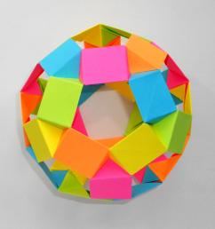 tutorialdodecahedron by tomoko fuse  [ 4224 x 2376 Pixel ]