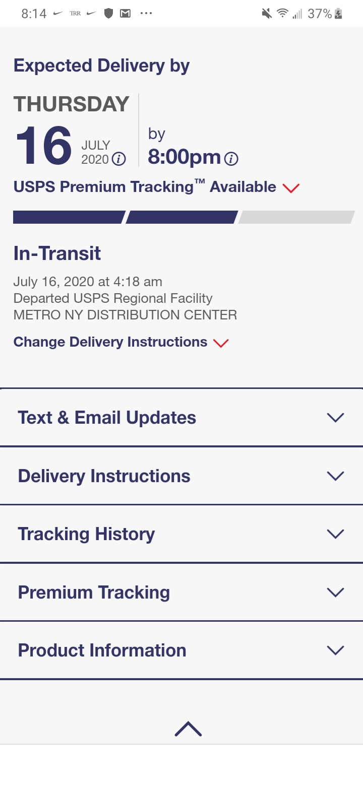 Does Usps Have Live Tracking : tracking, Tomorrow?, Package, Coming, Usps_complaints