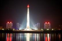 Juche Tower Pyongyang. Evilbuildings