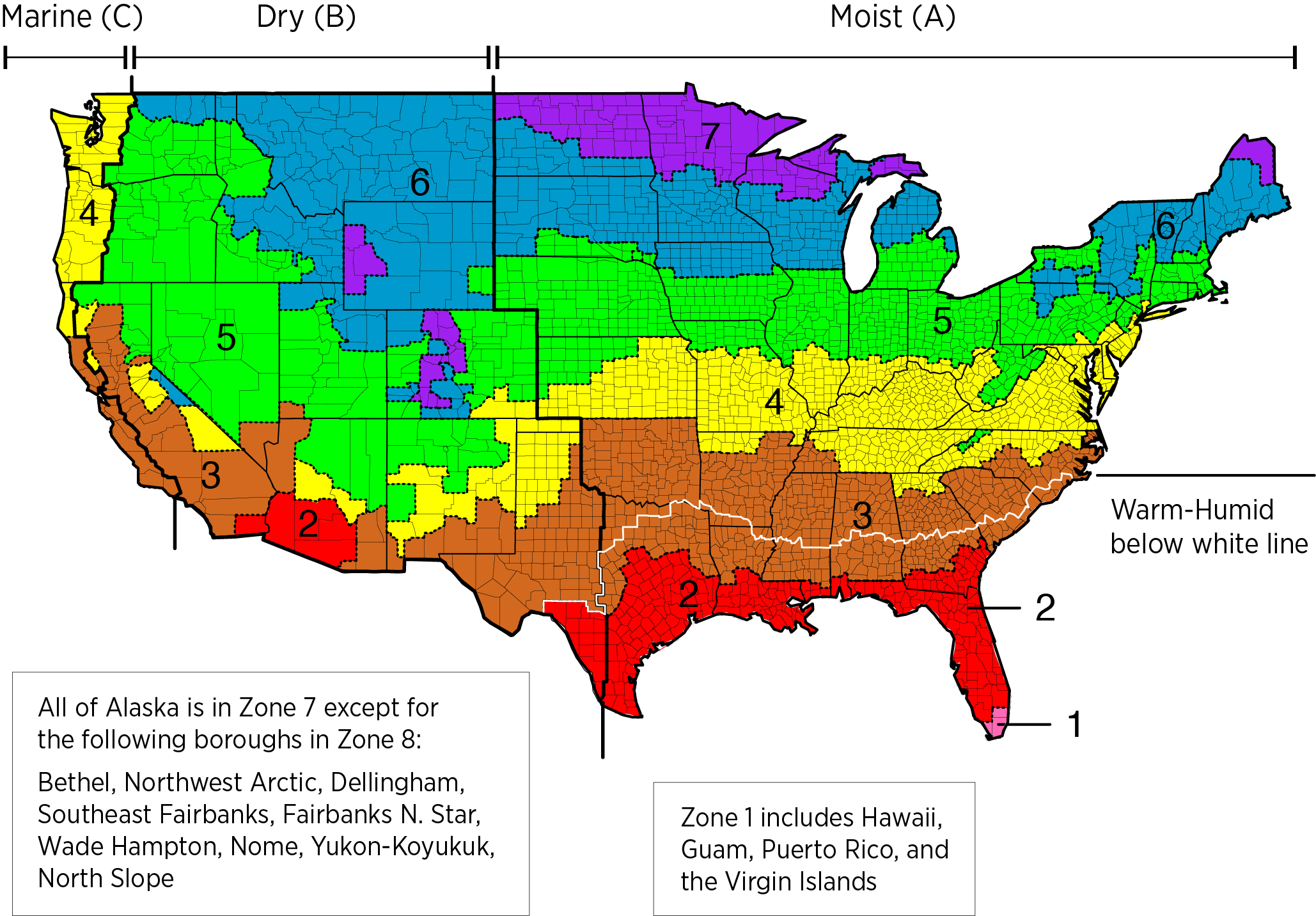 Worksheet Climate Regions Map