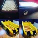 Little Tikes Race Car Bed Transformed Into Bumblebee Somethingimade