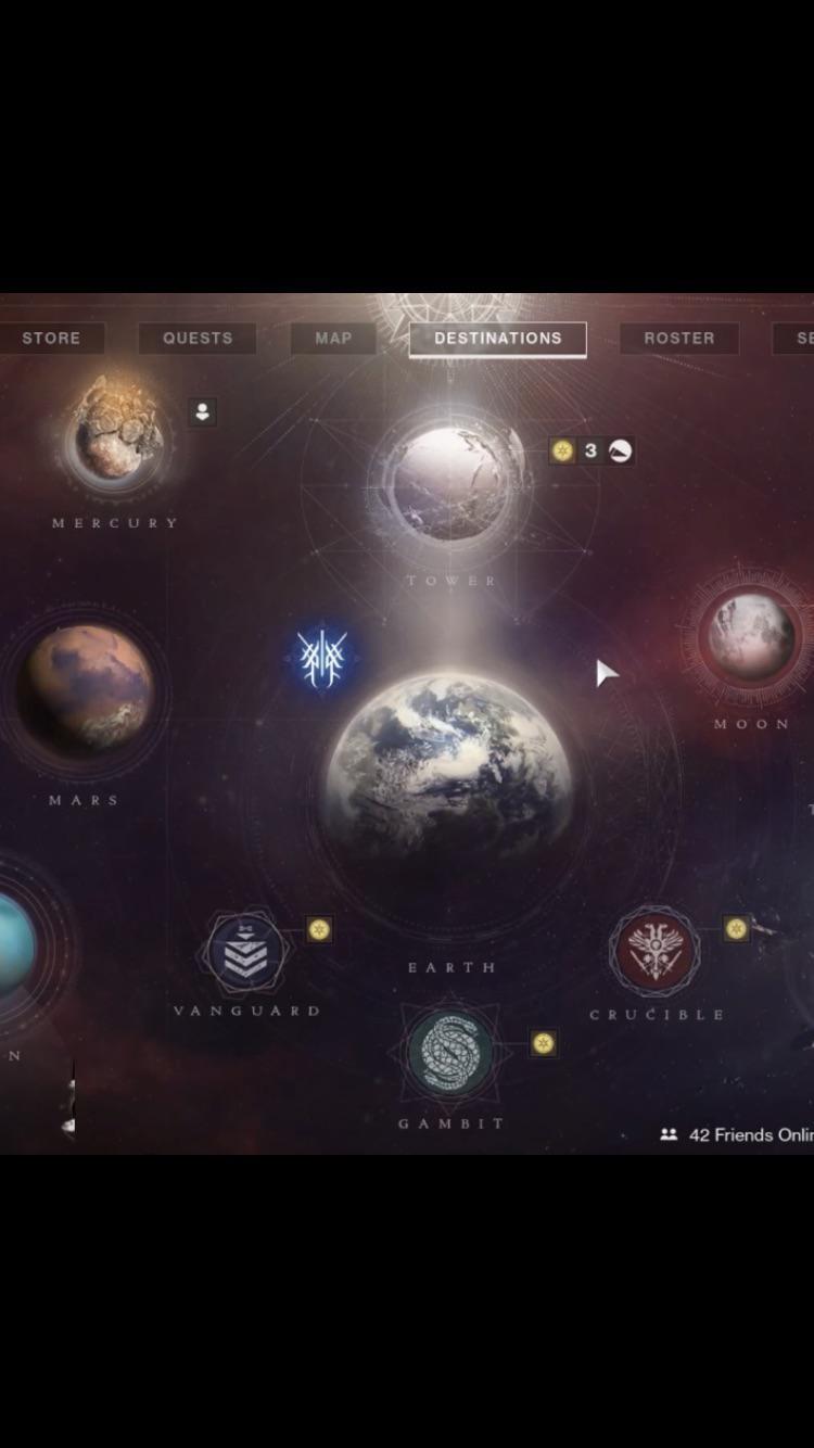 Destiny Map Moon : destiny, Anyone, Earth., Don't, Seeing, Various, YouTube, Destiny2