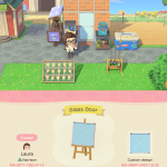 Made A Glass Door For My Bait Shop Using Simple Panels Animalcrossing