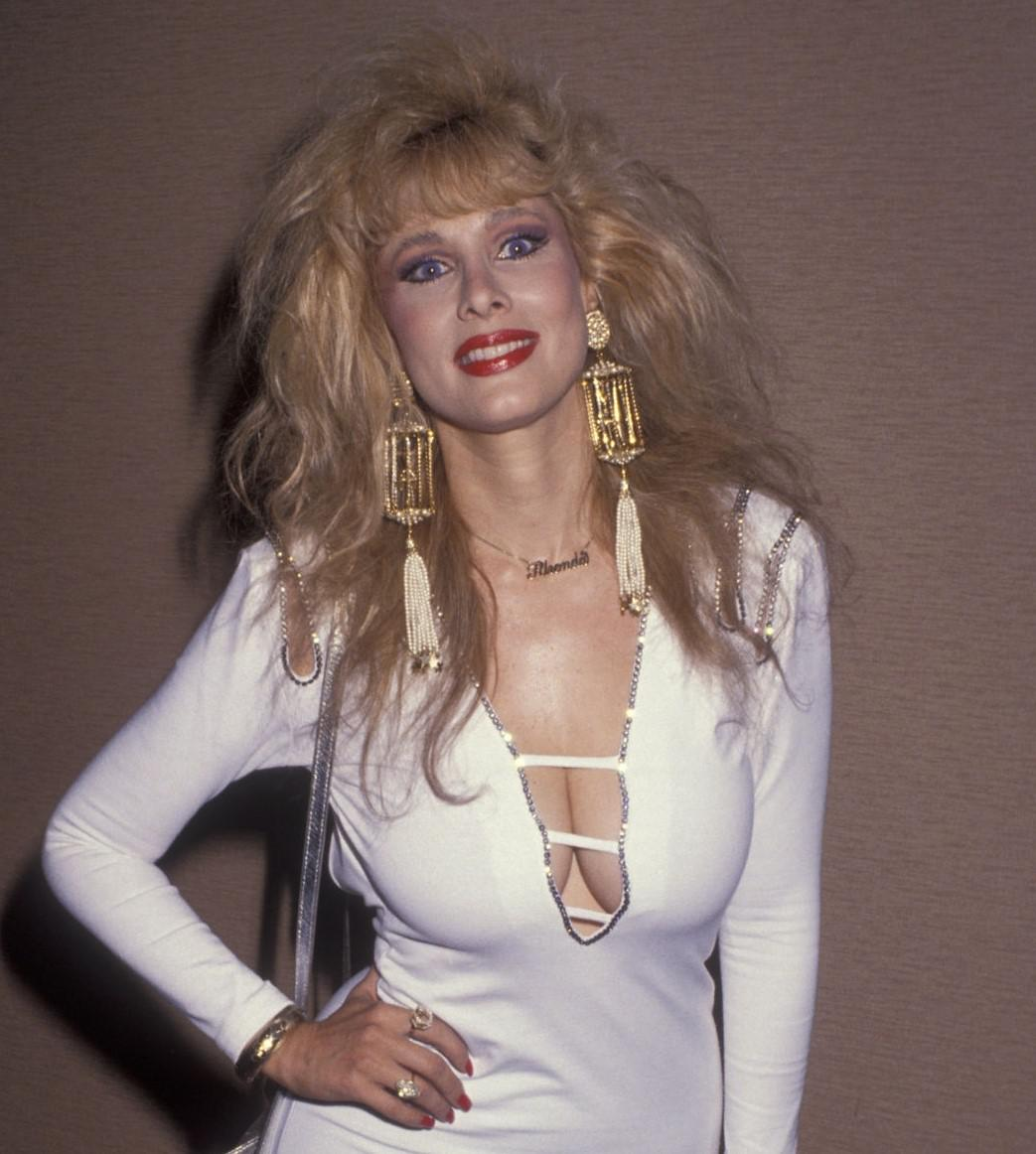 She is known for her role as a host. Rhonda Shear 1990's : OldSchoolCelebs