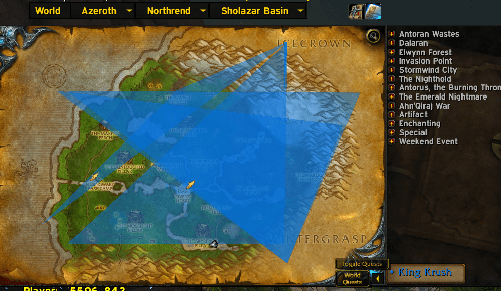 NPCScan overlays broken? Smudged paths on world and minimap. Any solutions? Have uninstalled and reinstalled and deleted cache. : wow