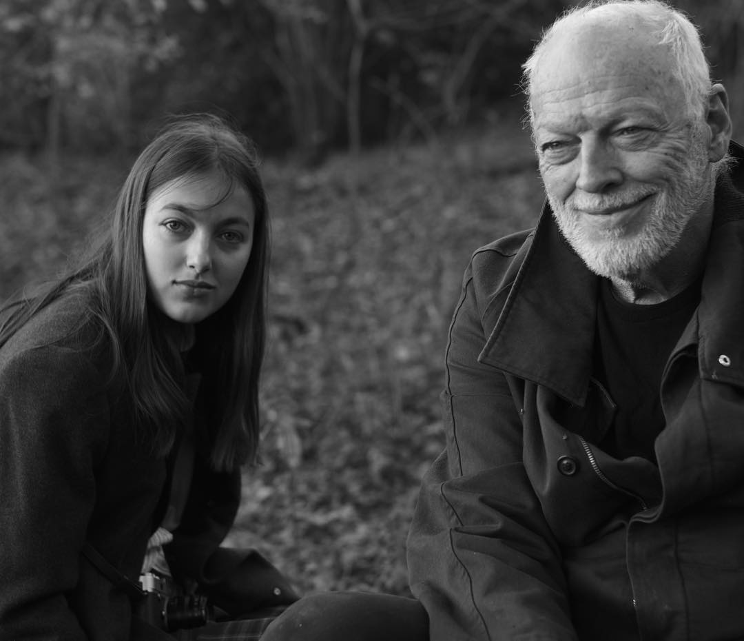 david gilmour s daughter