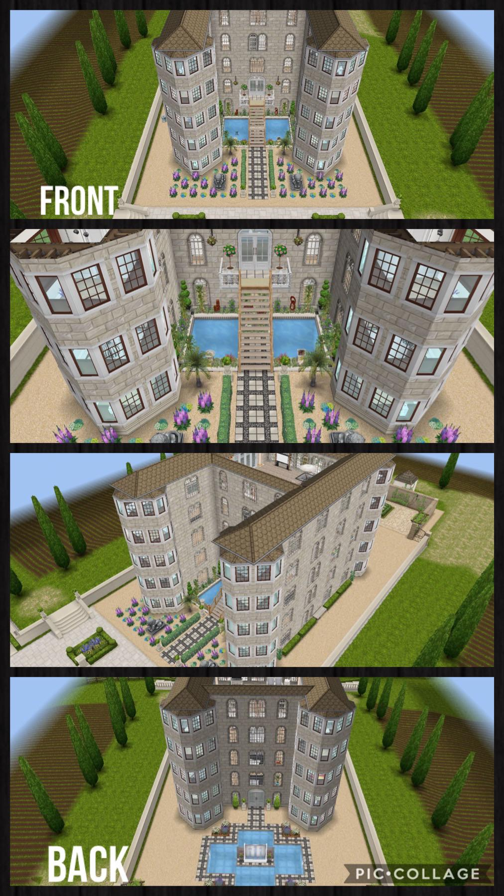 Sims Freeplay Back To The Wall : freeplay, Built, Estate, Simsfreeplay