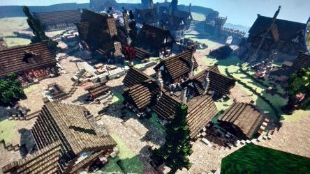 My Minecraft medieval/fantasy town : Minecraft