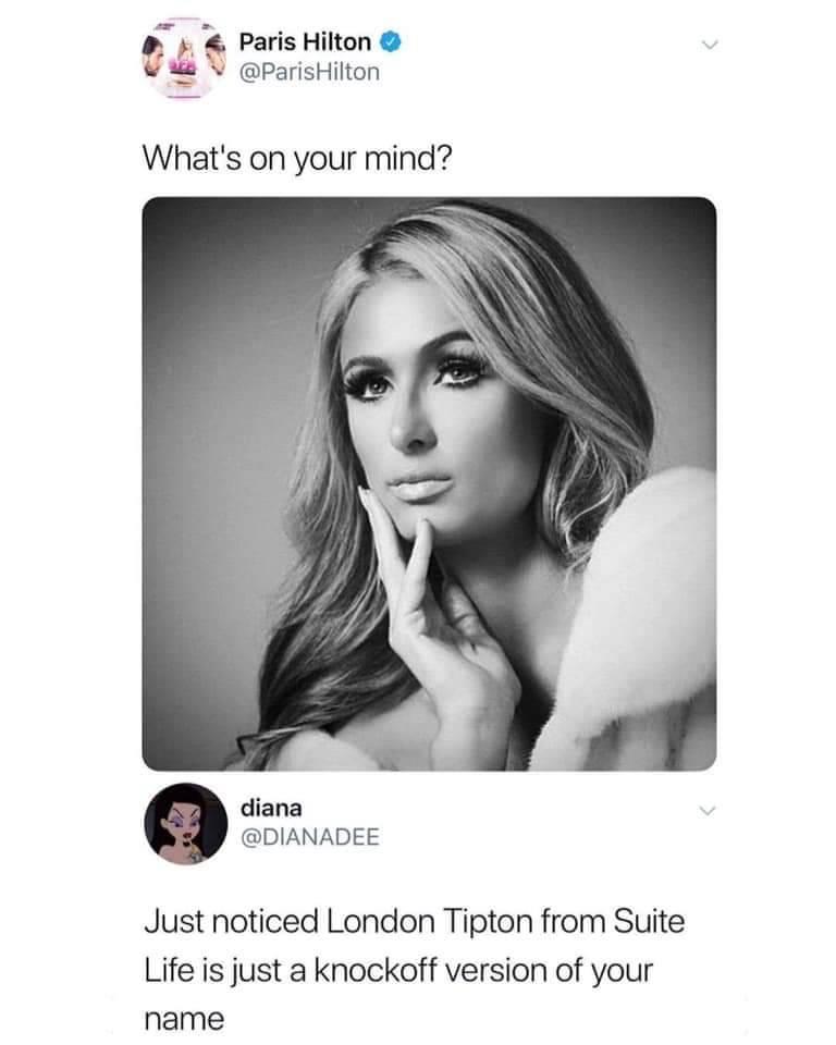 London Tipton Paris Hilton : london, tipton, paris, hilton, Damned, WhitePeopleTwitter