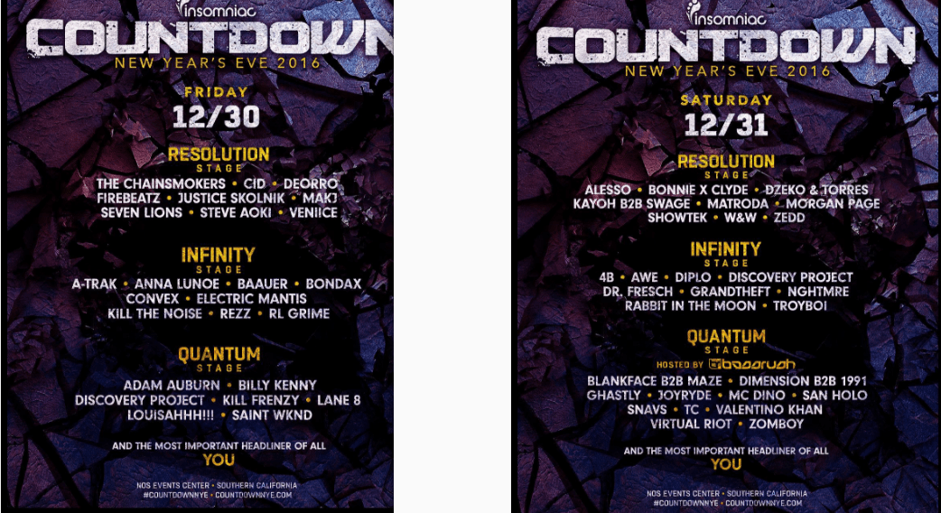 countdown nye stages lineup