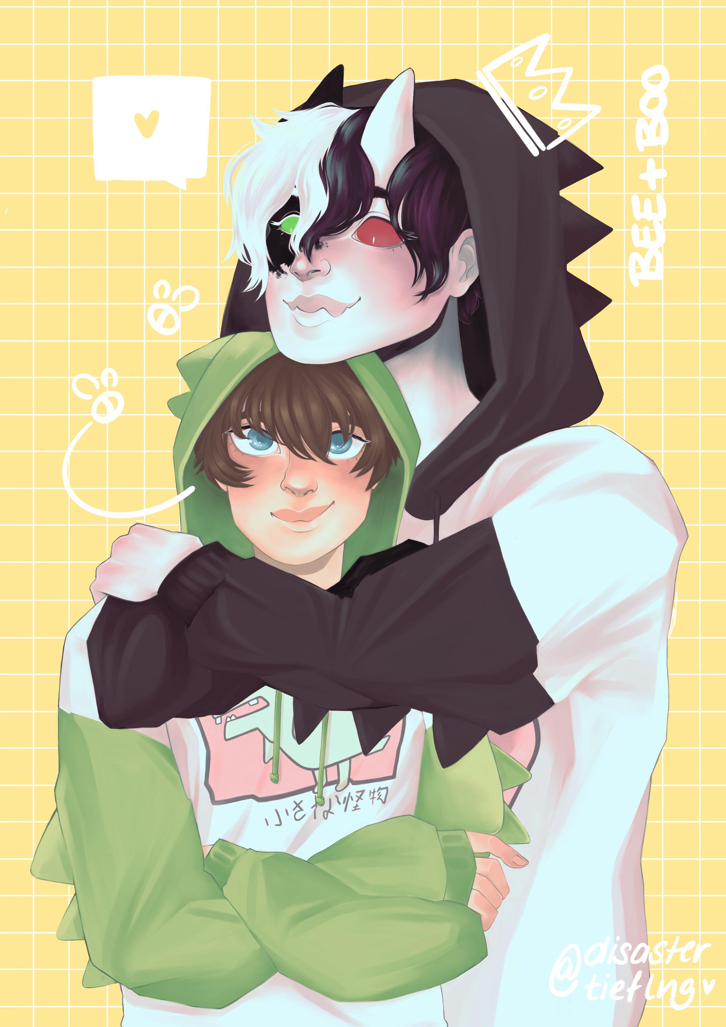 Matching Anime Hoodies : matching, anime, hoodies, Matching, Hoodies, Tubbo_