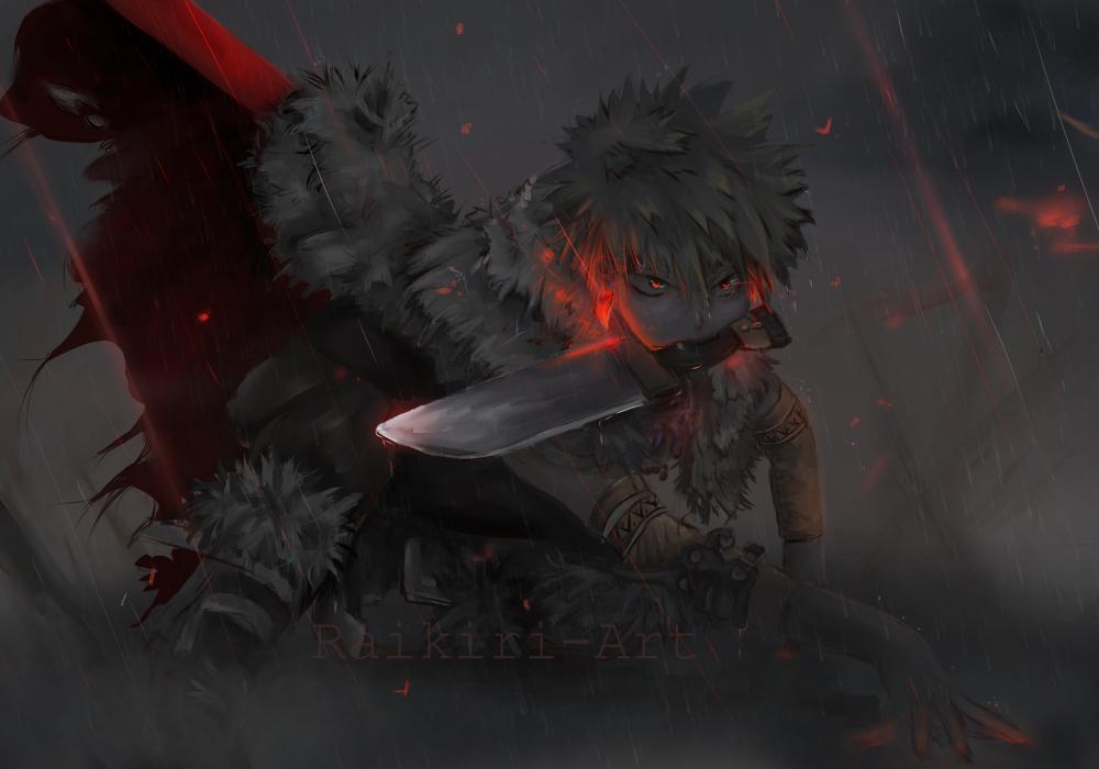 Bnha Girls Wallpaper Ultimate Warrior Katsuki Bakugou Bokunoheroacademia