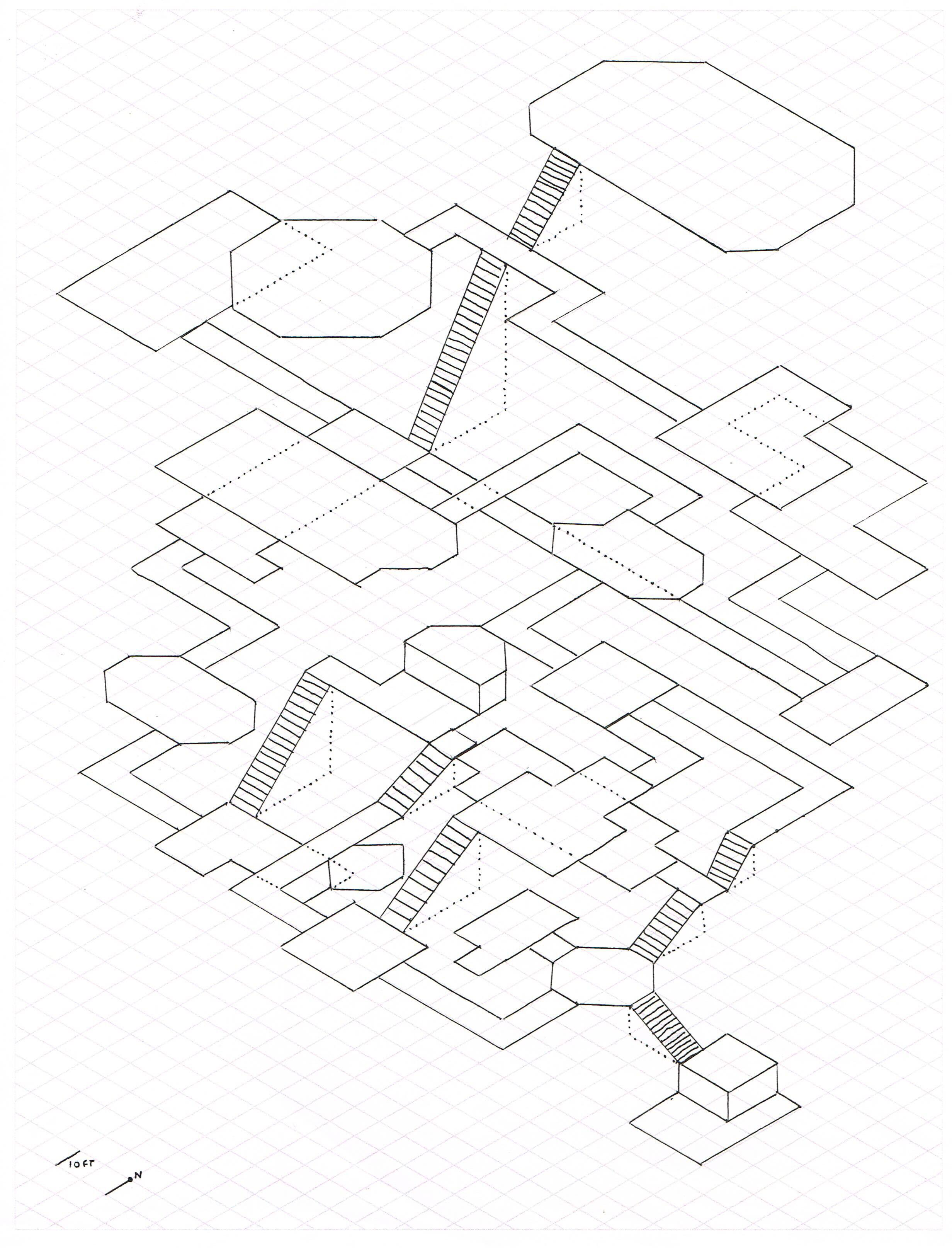 My first isometric dungeon : mapmaking