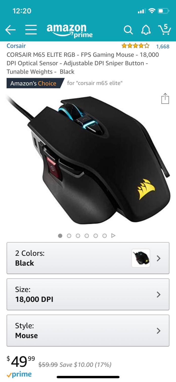 Gaming Mouse Reddit