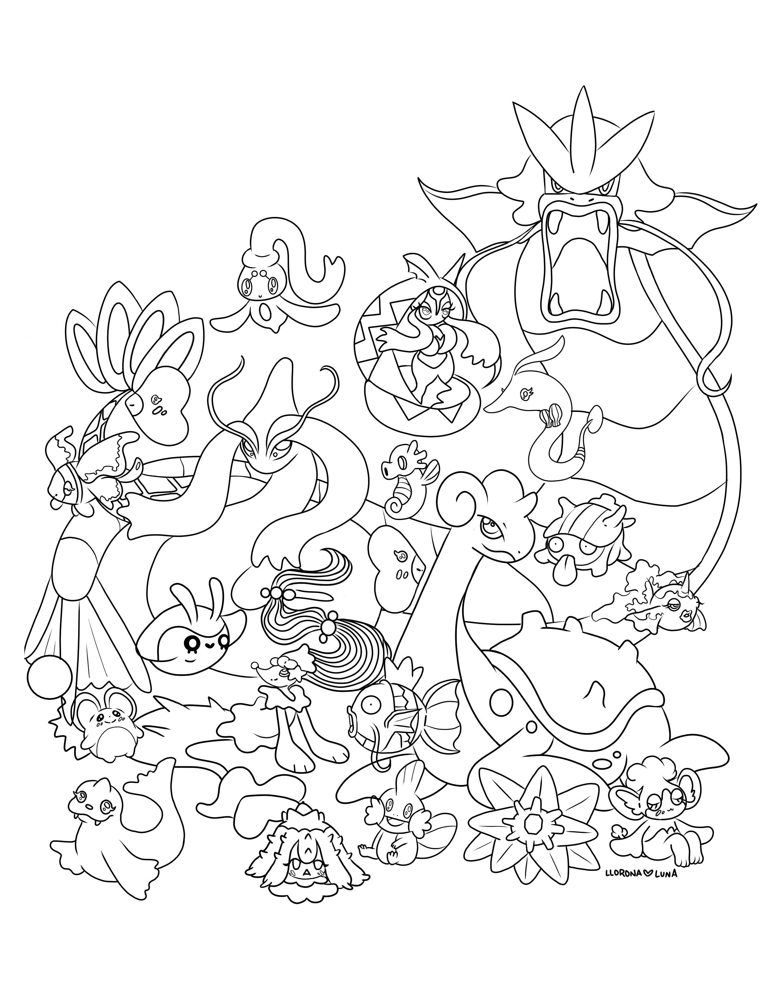 Water Pokemon Coloring Pages : water, pokemon, coloring, pages, Really, Proud, Coloring, 🥺💕, Please, Print, Color, Fellow, Water, Fans!, Everyone, Doing, Quarantine