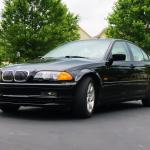 Very Subtle Mod Wrapped The Plastic Moulding On My E46 Sedan Gloss Black Matches Almost Perfectly Bmw