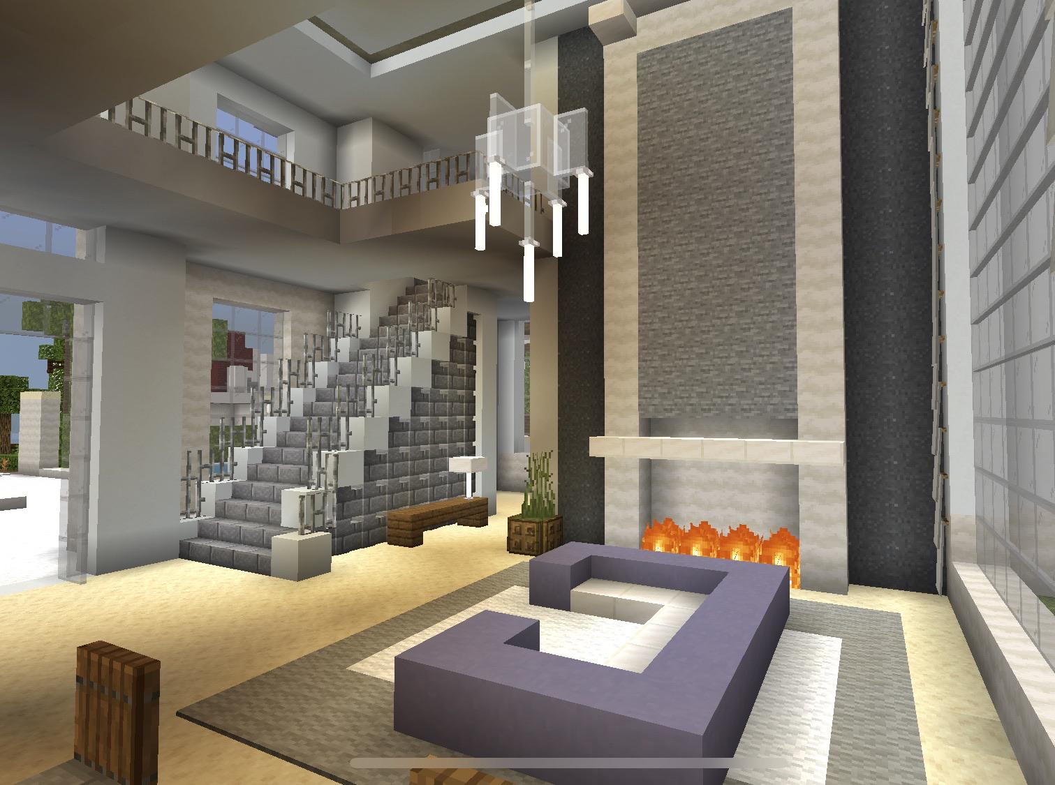 Foyer With Living Room Minecraft