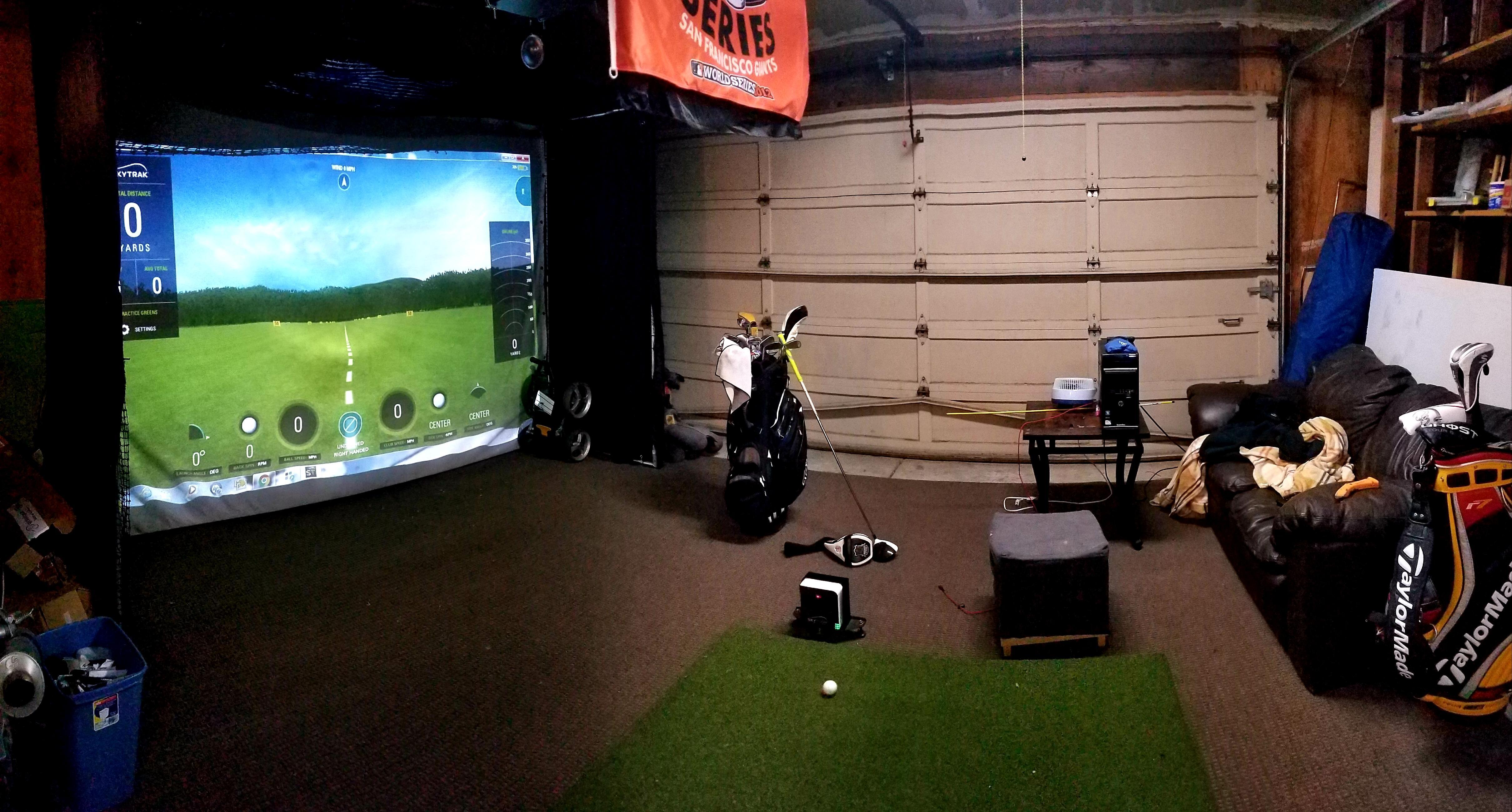 Garage Setup Golf