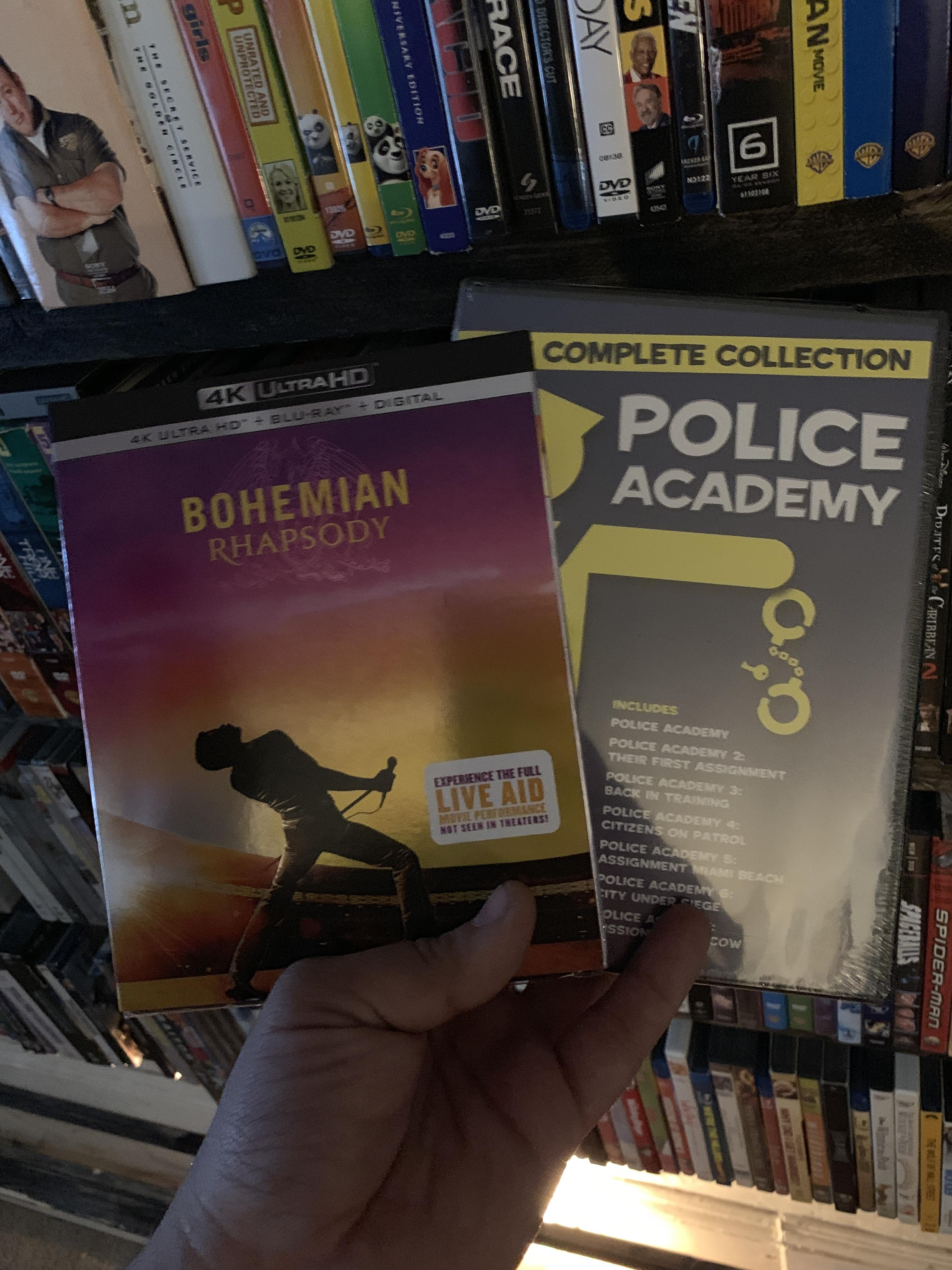 Streaming Bohemian Rhapsody Reddit : streaming, bohemian, rhapsody, reddit, Today's, Pickups., Wanting, Bohemian, Rhapsody, Can't, Wrong, Complete, Collection, Police, Academy., Though, Academy, Dvdcollection