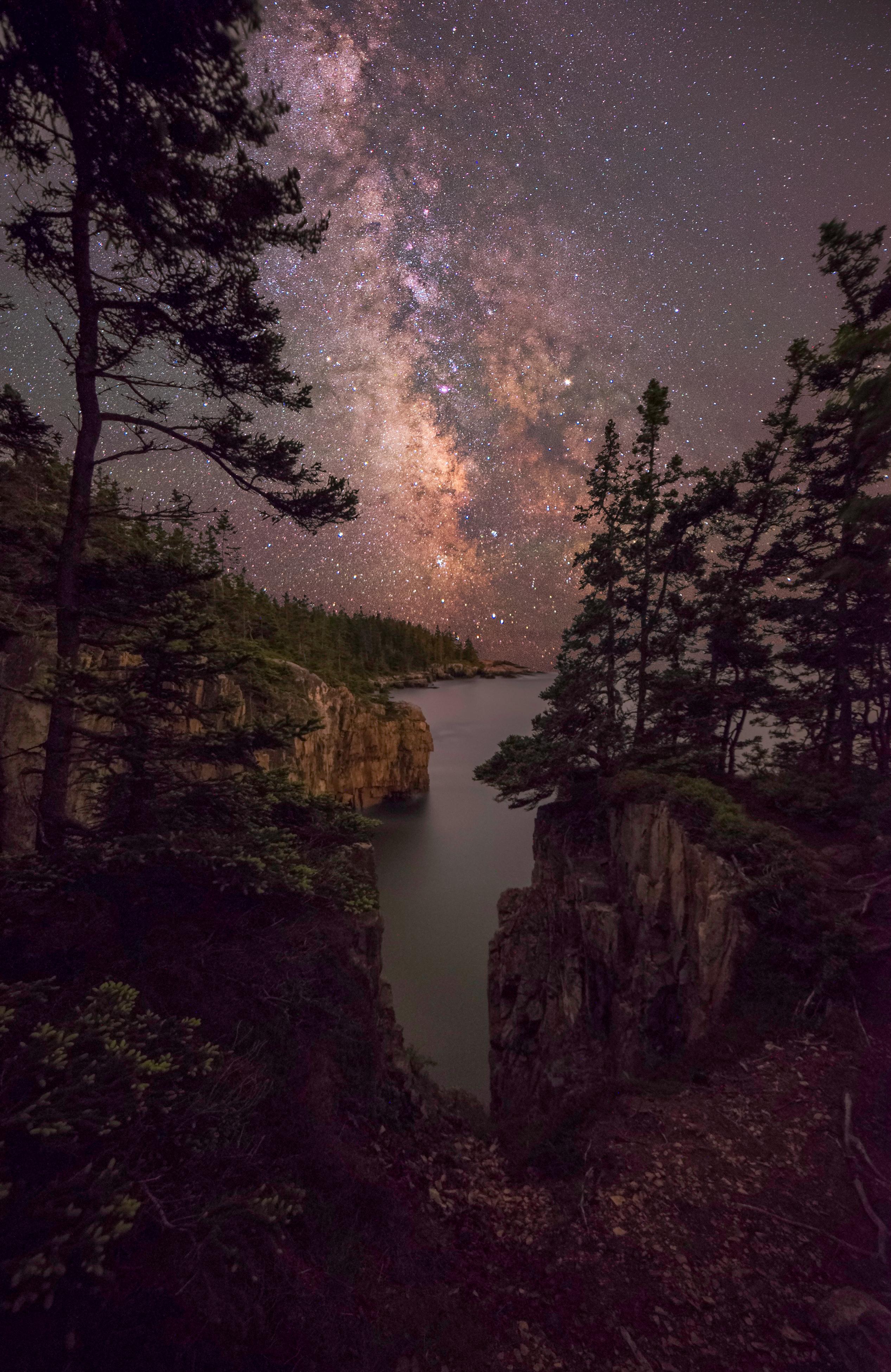 Central Park Iphone 6 Wallpaper Michaelpocketlist Milky Way Rising Over The Atlantic