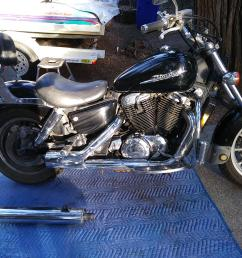 which honda shadow model is this its a 1998 1100  [ 2560 x 1920 Pixel ]