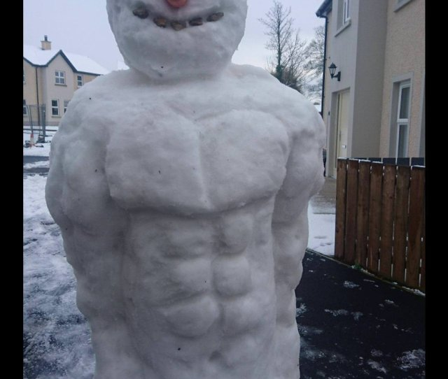 The Abdominal Snowman Consumer Of Frosty Goods And Protien