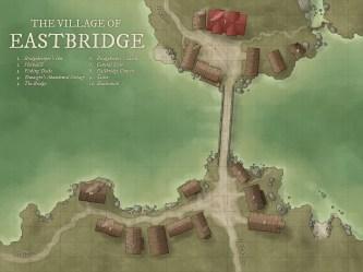 The Village of Eastbridge [OC] [ART] : DnD