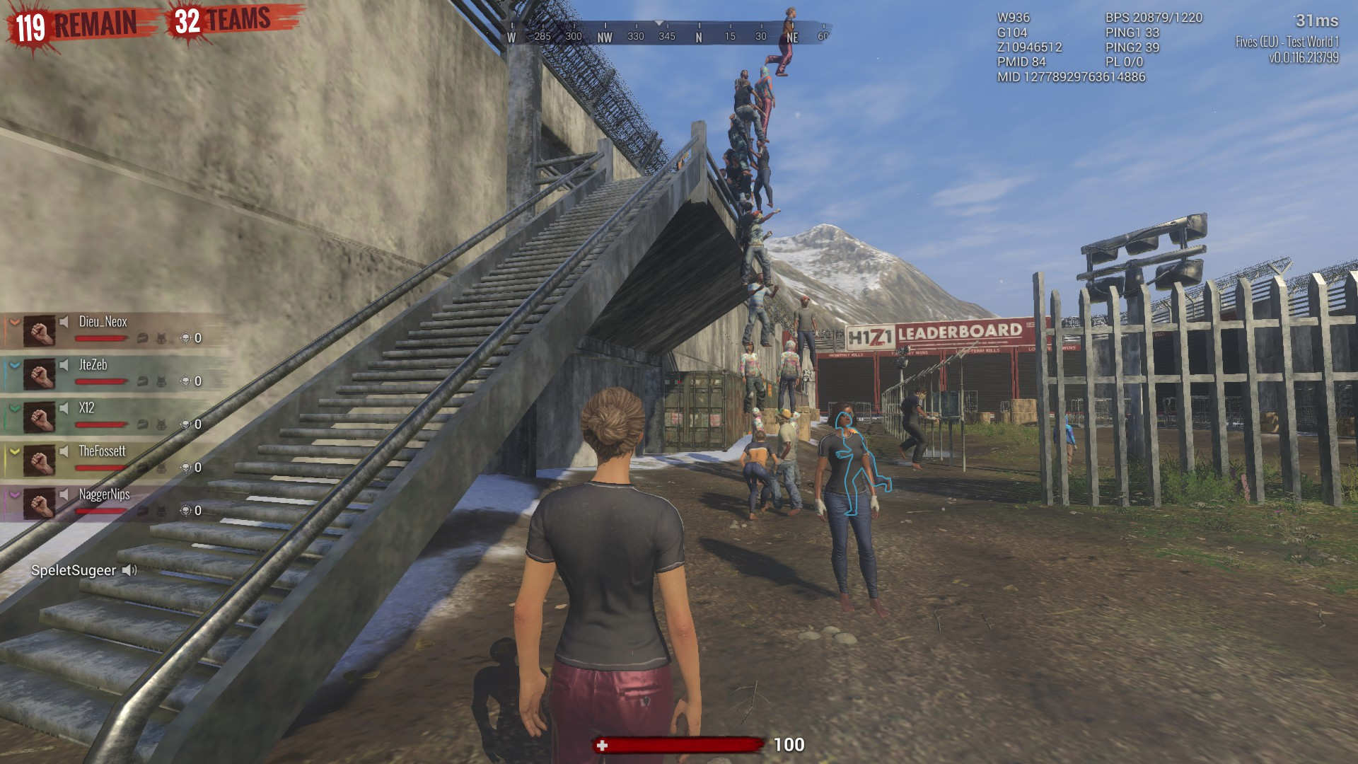 leaning tower of h1z1