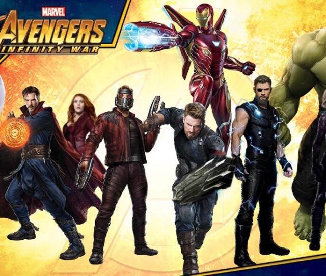 Newsnew Avengers Infinity War Promo Art Website Header