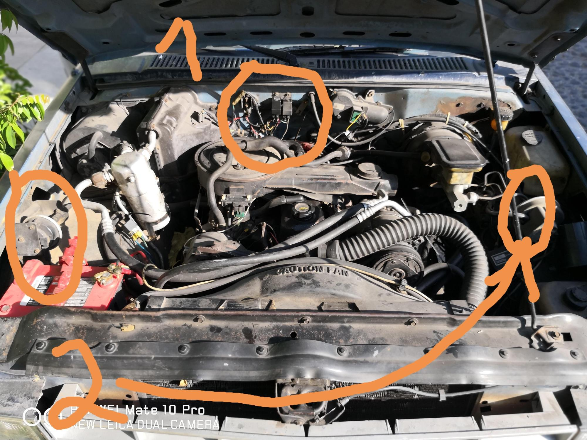 hight resolution of fuel pump relay location s10 1985 4x4 2 5 1 is that the fuel pump relay and why are the two 2 what are those and how can i know if they are working