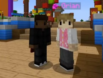 Black Grian and White Calvin have the most adorable skins : MinecraftChampionship