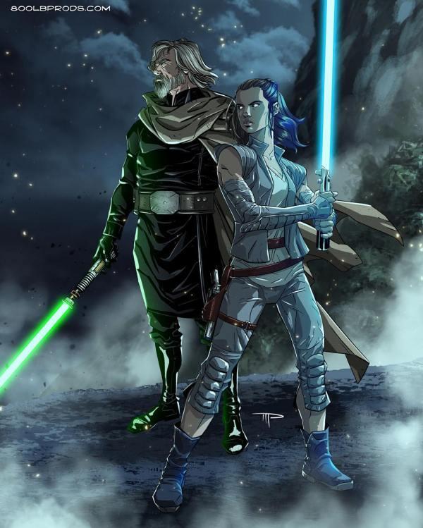 Star Wars Last Jedi Fan Art