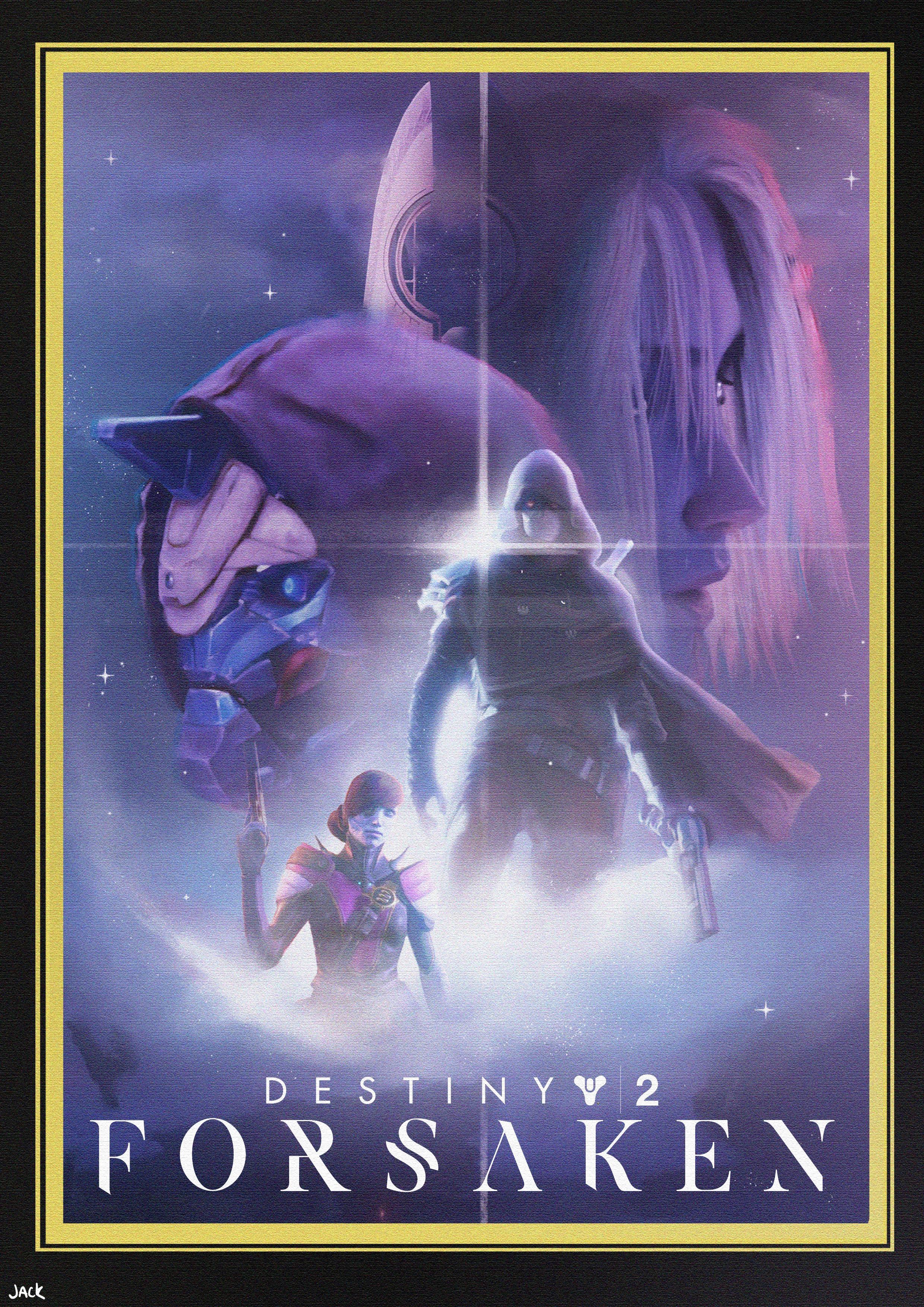 destiny forsaken movie poster