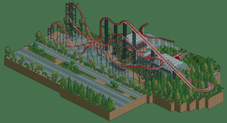 x2 and viper at six flags magic mountain 1.jpg. X2 Six Flags Magic Mountain Ncso Remake Link In Comments Rct