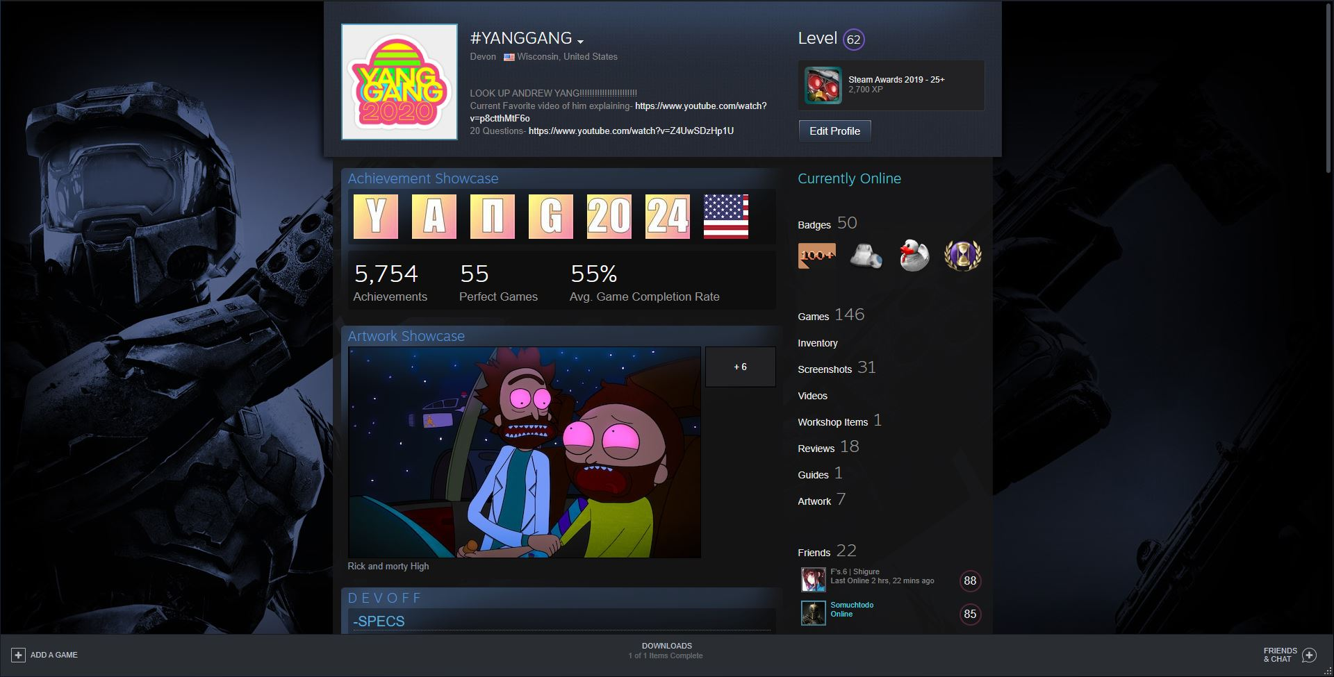 The Best 14 Cool Steam Profile Pictures