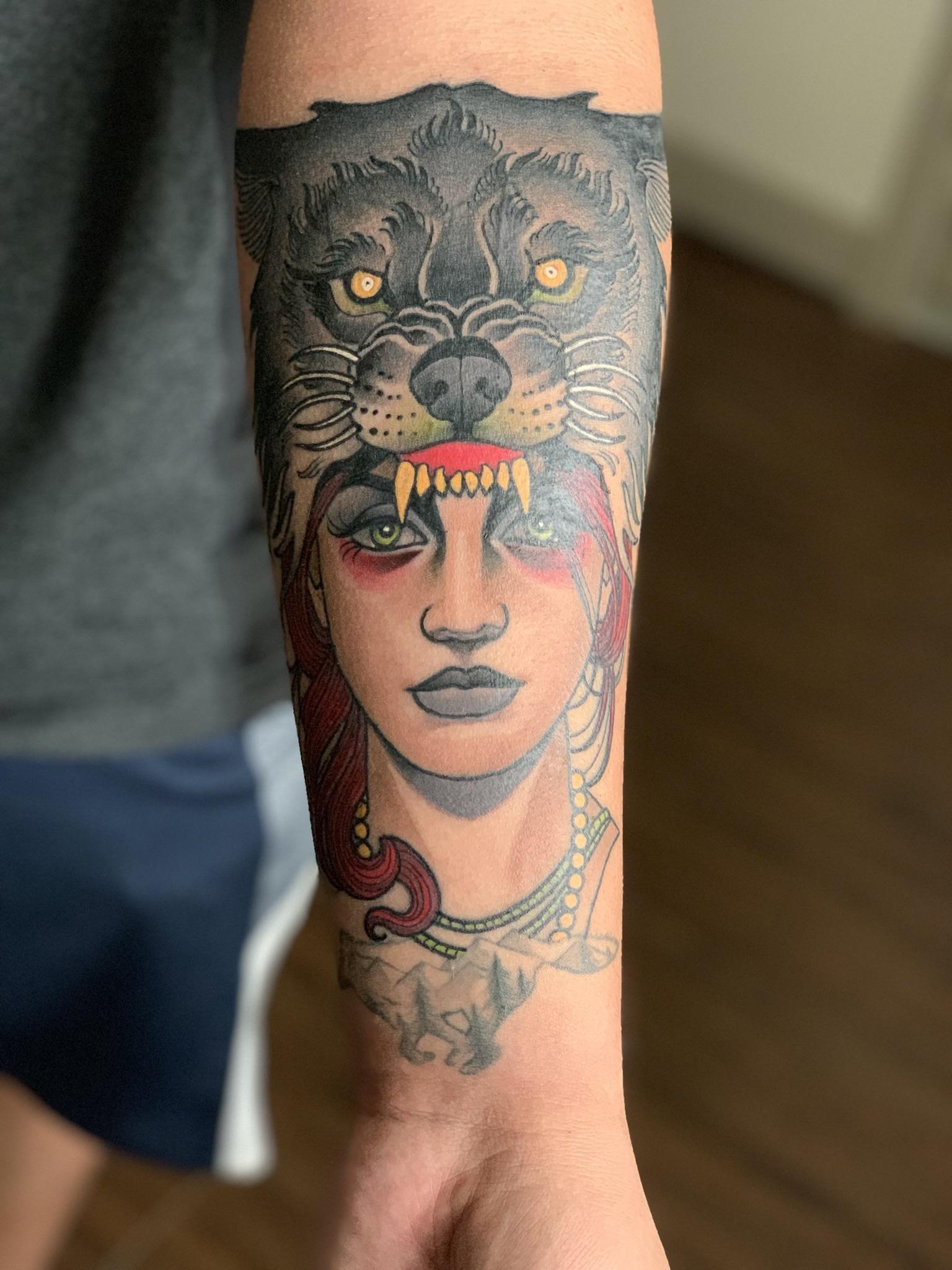 Red Dagger Tattoo : dagger, tattoo, Wolfmother, Sanchez, Dagger, Tattoo, Houston,, Tattoos