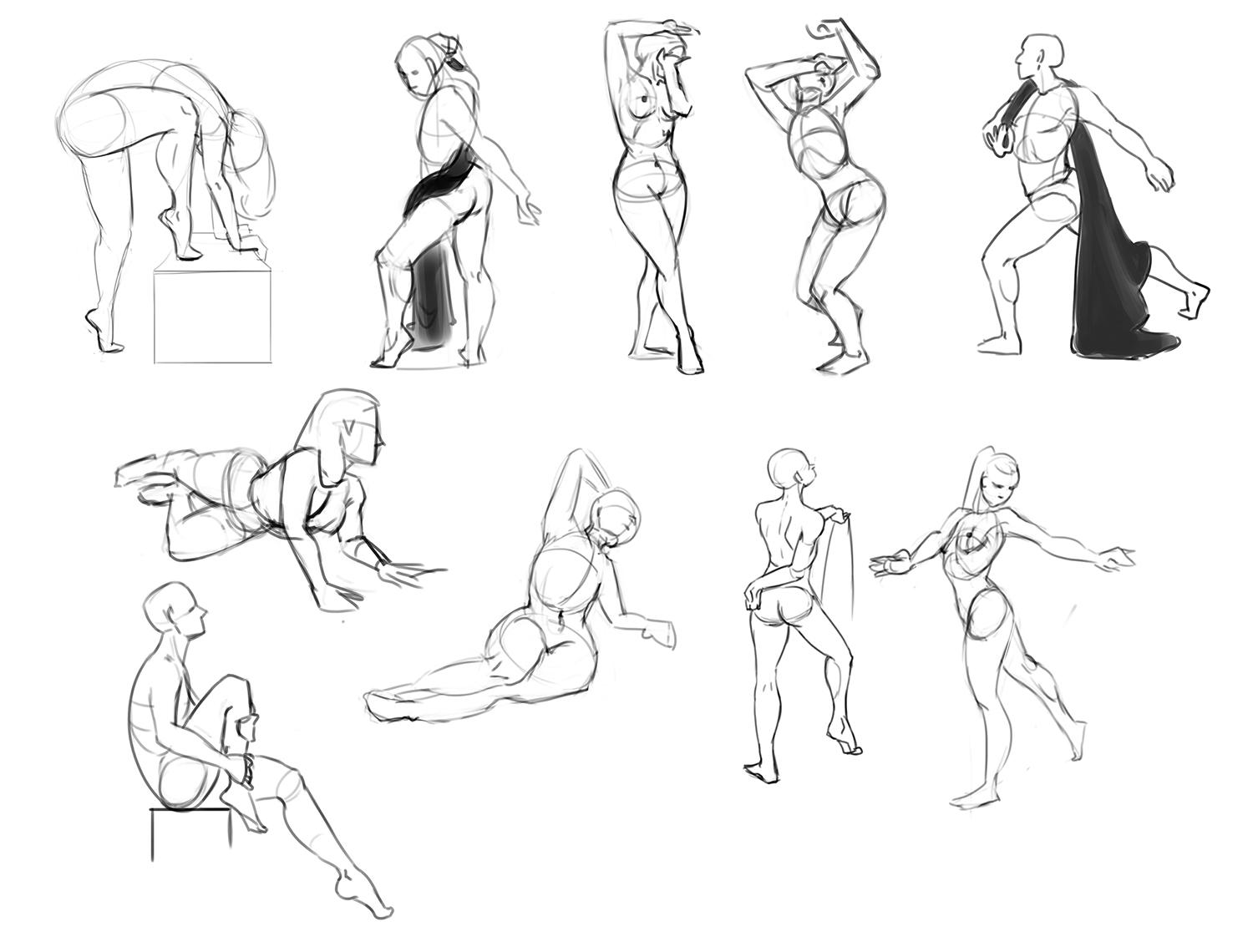 Practice Drawing Human Anatomy