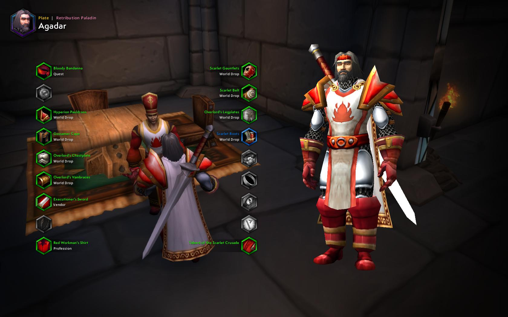 Scarlet Crusade Captain : Transmogrification