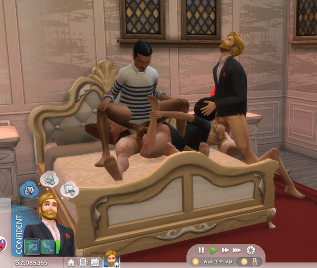 Downloaded That Wicked Woohoo Mod And Then This Happened