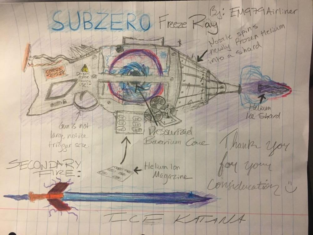 medium resolution of the hydrogen ion bavarium core subzero freeze ray weapon idea
