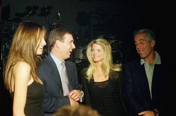 Melania Trump, Prince Andrew, Gwendolyn Beck, and Jeffrey Epstein ...