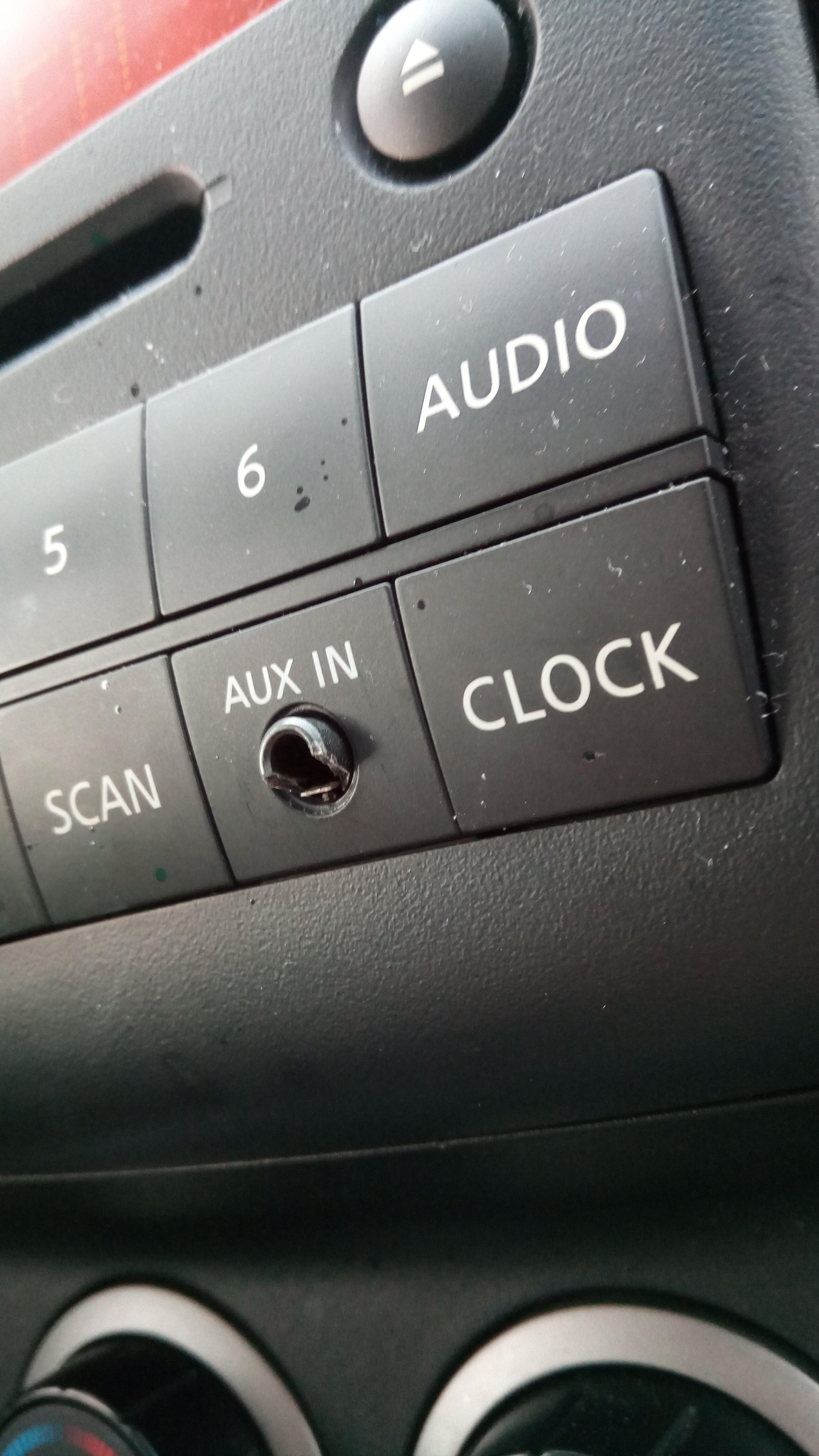 How To Fix Loose Aux Port In Car : loose, Minor, Issue, Plastic, Outline, Broke, Loose, Doesn't, Wondering, Theres, Simple, Besides