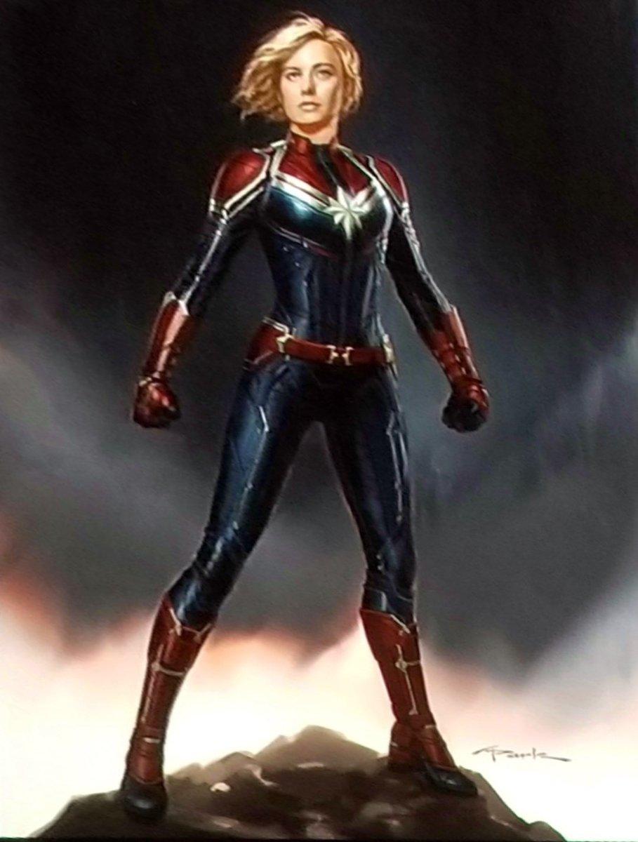 captain marvel's costume : marvelstudios