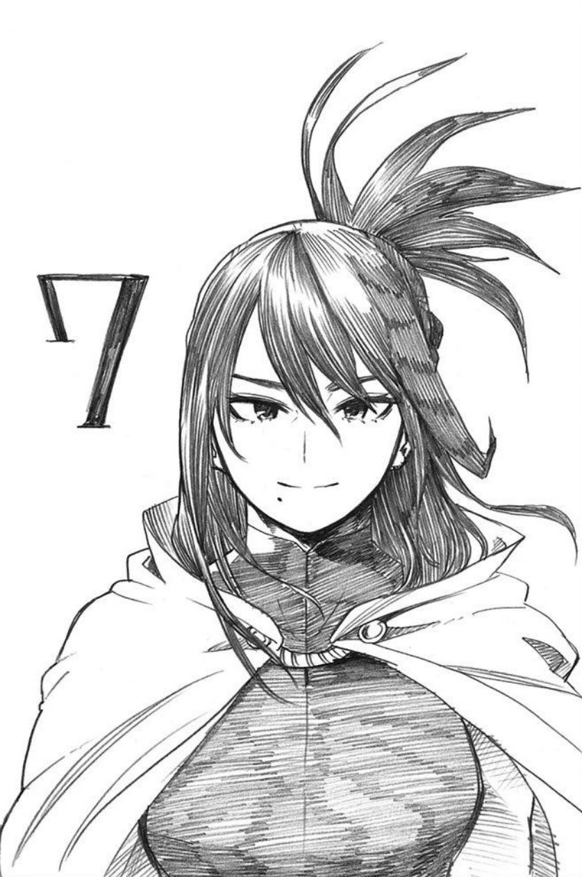 Volume 21 bonus page featuring Nana Shimura