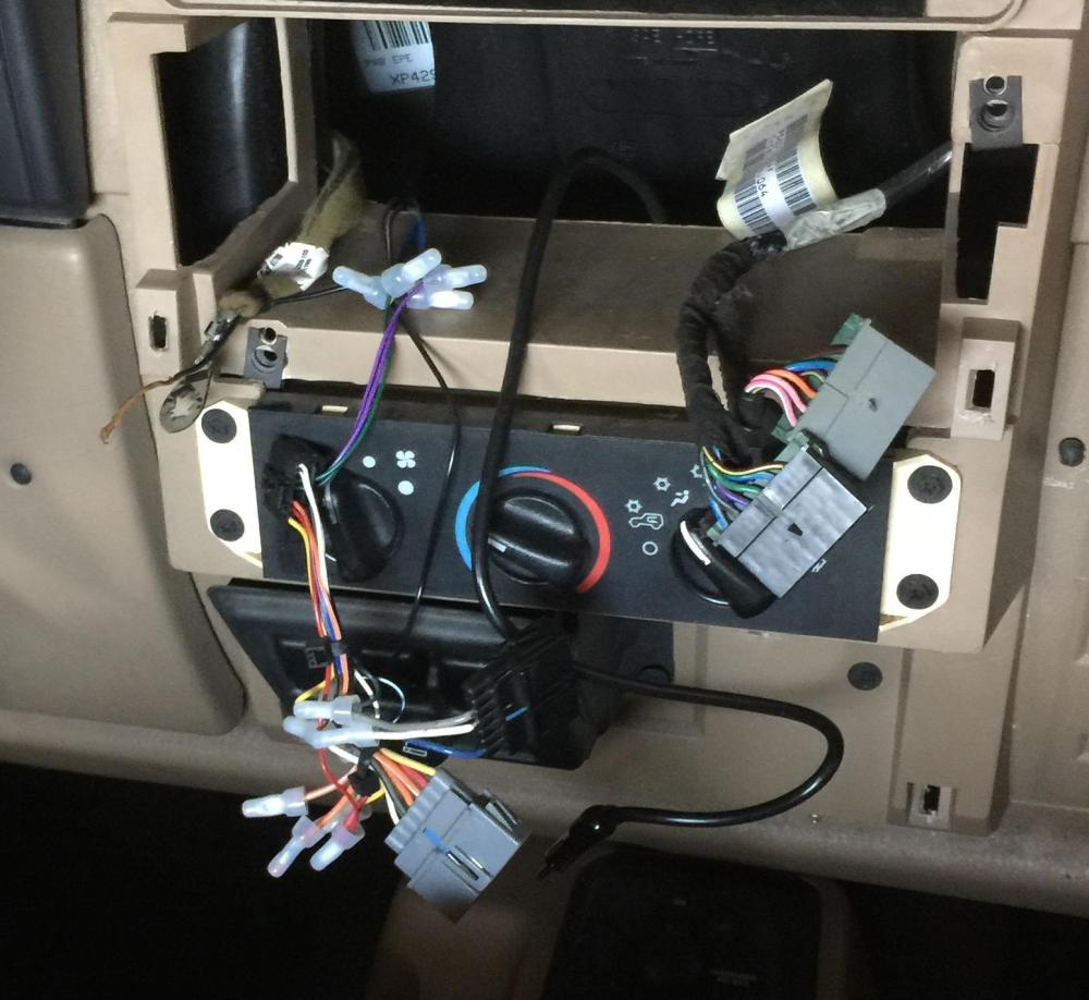 medium resolution of bad wiring job in a 99 wrangler trying to rectify and get it working